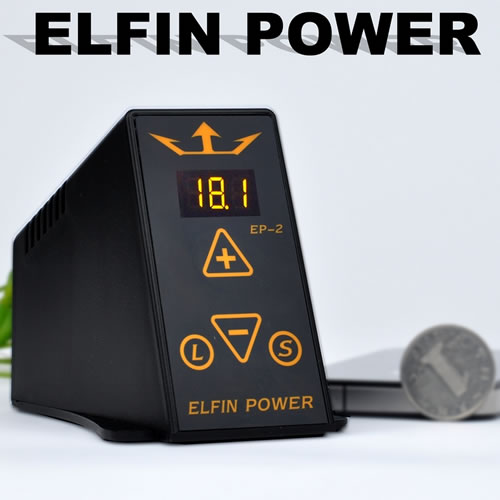tattoo power supply elfin