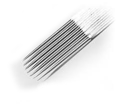 Round curved magnum tattoo needles